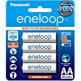 Panasonic Eneloop AA 2100 Cycle Ni-MH Pre Charged Rechargeable Batteries - 4 Pack