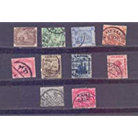 Egypt - 10 Used Stamps on Pyramids etc. as Shown - A 0184