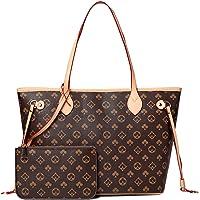 YUESUO Handtaschen Damen Shopper Schultertasche UmhäNgetasche Handtasche Brieftasche Set Tragetasche Groß Damen Tasche…