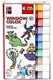 Marabu Kids 0306000000100 - Window Color Sortierung, 10 x 25 ml