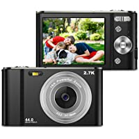 ZORNIK 2.7K Digitalkamera,Kamera Digital 2,88-Zoll-LCD-Akku HD 44 Megapixel 16-facher Digitalzoom, Studenten für…