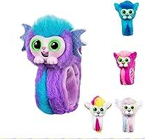 Wrapples pequeño juguete para las mascotas vivas, Wrist mono muñeca interactiva, amigos de la muñeca, conversación, mascotas en vivo, lindo juguete, niña, muñequera, regalo de navidad para niños skyo