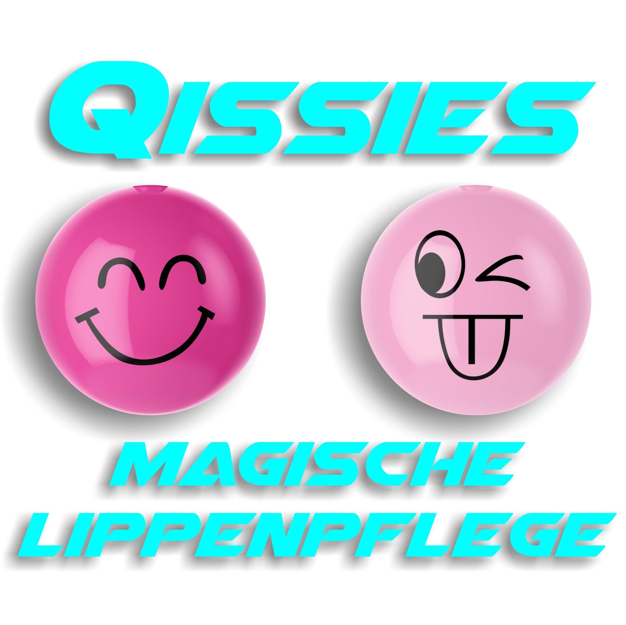 Die qissies von pureq I CURA DELLE LABBRA E LABBRO colore in una sfera I Die Smiley palla in 4co