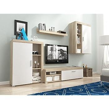 Homedirectltd Meg Moderne Wohnwand Exklusive Mediamöbel Tv Schrank