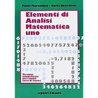 Elementi di analisi matematica 1. Versione semplificata per i nuovi corsi di laurea PDF Libri