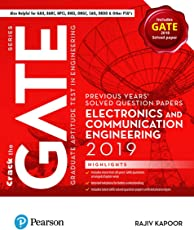 Previous Years' Solved Question Papers: GATE Electronics and Communication Engineering, 2019 by Pearson