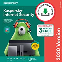 Kaspersky Internet Security 2020 Latest Version - 3 PC, 1 Year + 3 Months Free (Total 15 Months) (Email Delivery in 2 Hours - No CD)