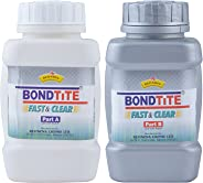 A combo of Bondtite Part A and Fast and Clear -Part B (500 g, transparent)