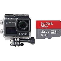 SJCAM SJ6 Legend Dual Screen 2-inch LCD Touchscreen 2880x2160 Novatek NT96660 Sports Action Camera with Accessories…