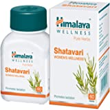 Himalaya Wellness Pure Herbs Shatavari Women's Wellness | Promotes lactation | - 60 Tablets