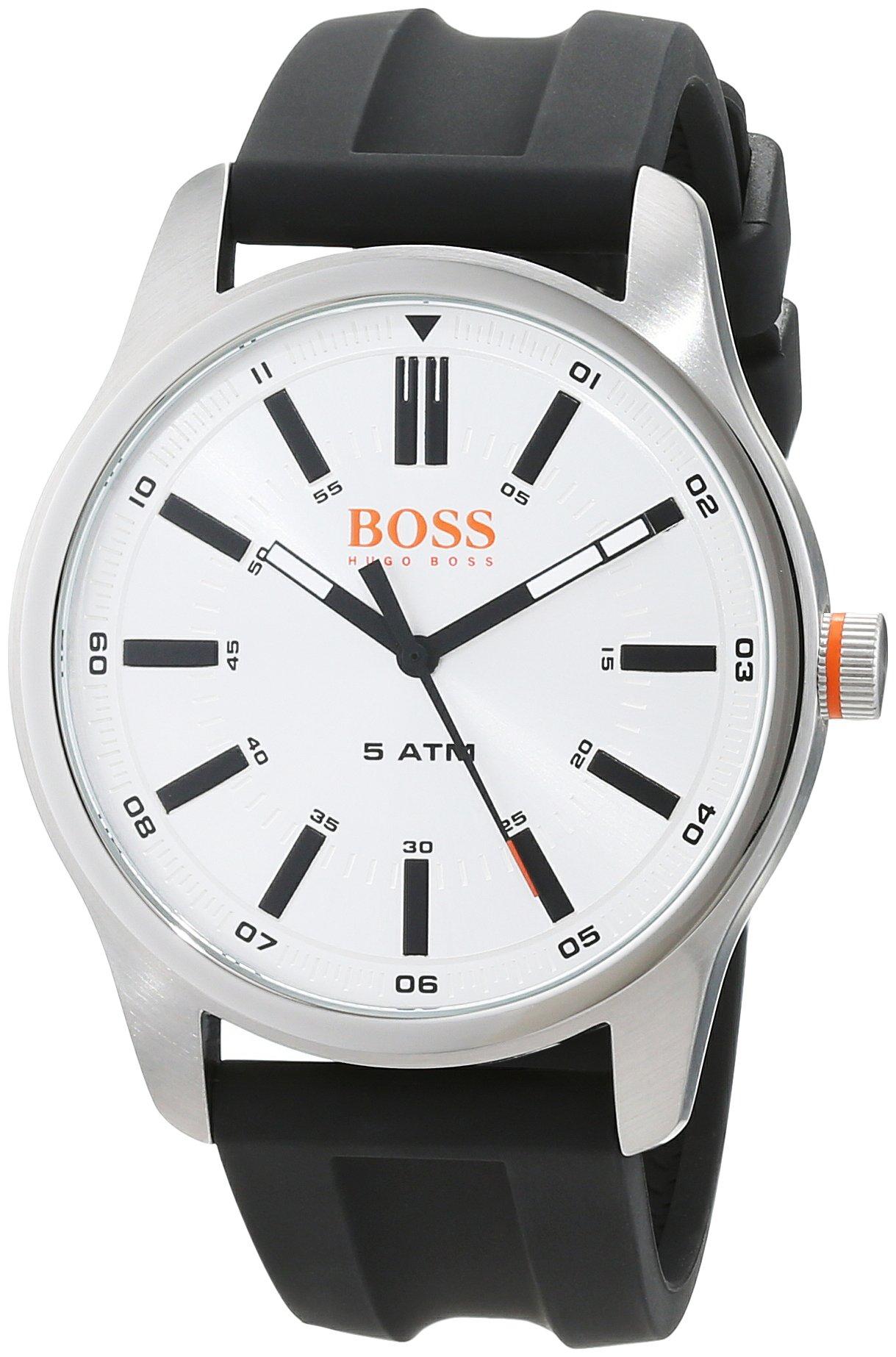 Hugo Boss Orange Reloj Análogo clásico para Hombre de Cuarzo con Correa en Cuero 1550043