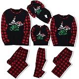 DaMohony - Pijamas de Navidad a juego para la familia, con diseño para papá, mamá y niños - Pijamas con camiseta y pantalón,