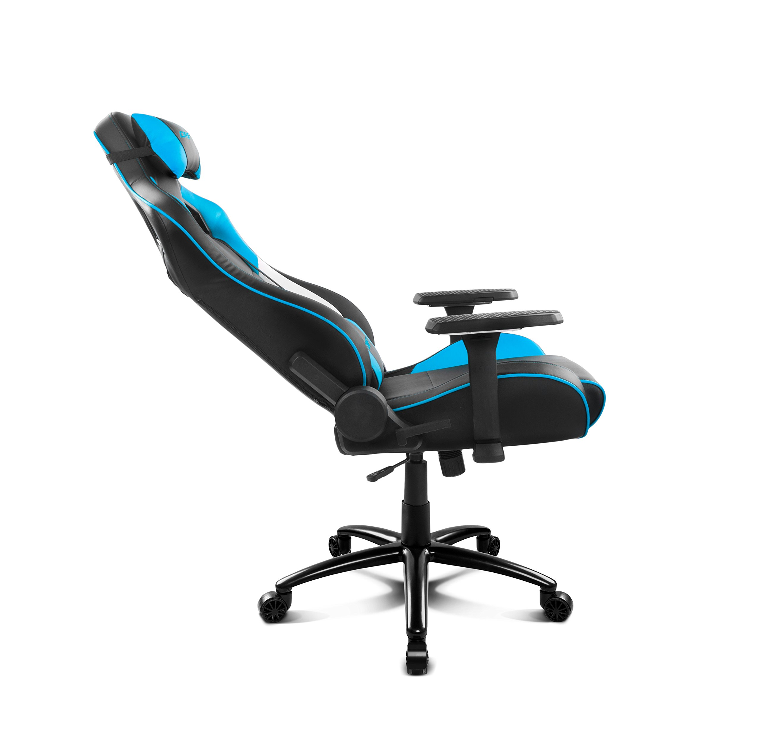 71voyEgFSOL - Drift DR400BL - Silla Gaming, Color Negro y Azul