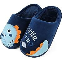 Pantofole Bambina Bambini Dinosauro Caldo Peluche Pantofole da Casa Inverno Scarpe per Bambino