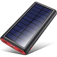 VOOE Powerbank Solare 26800mAh, 【2020 Chip Intelligente】 Caricabatterie Solare Portatile Caricatore Solare Impermeabile…