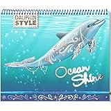 Dauphin Style - Carnet créatif Ocean Shine