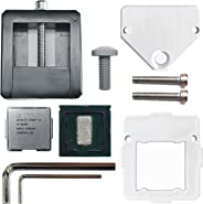 BoArt Intel CPU Delid & Relid Tool for All LGA 115X Chips i3 i5 9600K i7 9700K i9 9900K i7 6700K 7700K 8700K 3770K 4790K (201