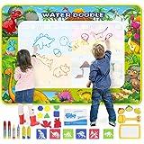 GoZheec Agua Dibujo Pintura, 160*120cm Alfombra de Agua Mágico Doodle con Paquete de Transporte y Herramienta de Sello de Rod