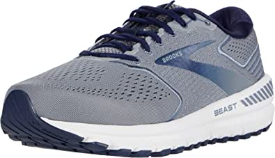 Brooks Men's Beast '20 Running Shoes, Black/Ebony/White