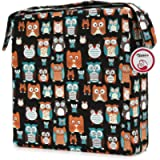 Booster Seat Owl Printed Harness Cushion Dismountable Kid Baby Seat Highten Pad Travel Storage Chair Toddler Infant…