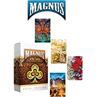 RIANZ Plastic Coated Magnus 555 Club Playing Cards Set of 4 Decks - Made in India