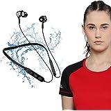 NOYMI et147 Wireless Bluetooth In Ear Neckband Earphone with Mic (Black)