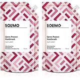 Amazon Brand - Solimo Germ-Protect Handwash Liquid, Refreshing Rose, 750 ml, Pack of 2