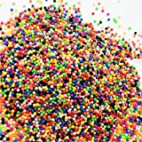 Aqua Beads Water Sticky Puzzle beads 5mm Multi mix of 20 Mixed Colors 1000 Classic Ball Beads Refill Pack DIY Magic Beads Ball for Kids/Adults Toy for Fun Crafting and DIY Activity Water Sticky Beads Multicolor Creative Intelligence Montessori Educational Toys…