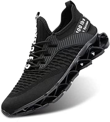 Men's Running Shoes Mesh Athletic Sport Sneakers Gym Fashion Trainers Tennis Casual Walking Zapatos