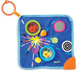 Manhattan Toy Whoozit Space Blankie Sensory Development Toy