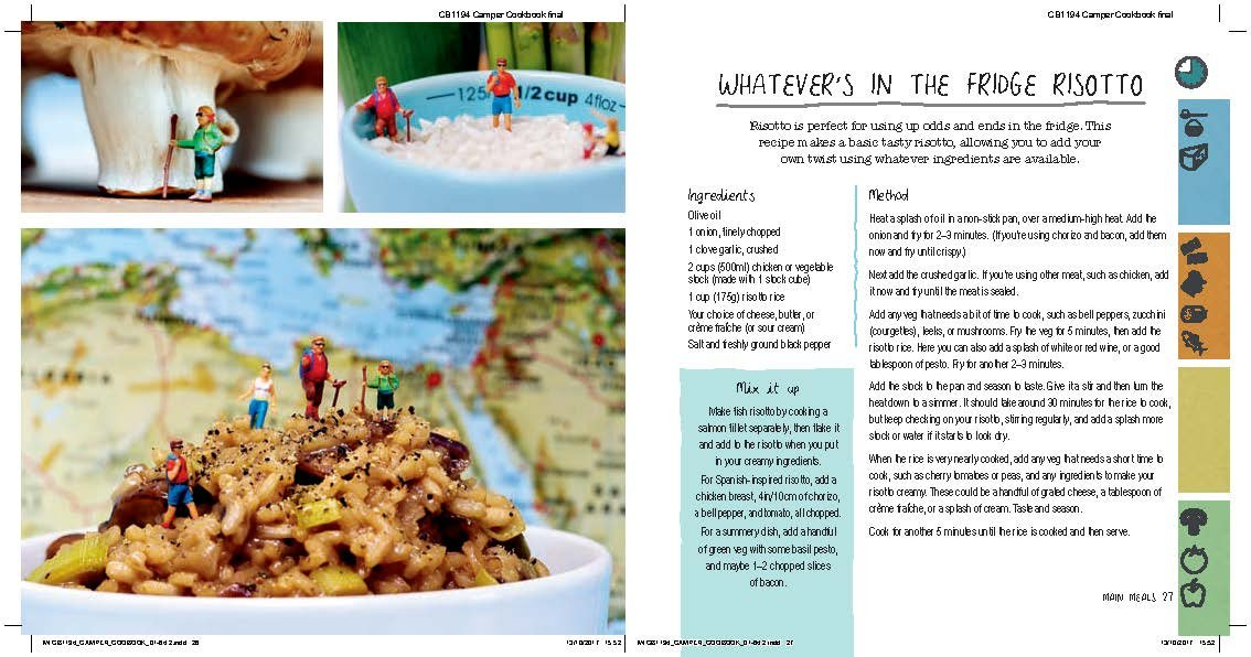 The Clever Camper Cookbook: Over 20 simple dishes to enjoy in the great outdoors 4