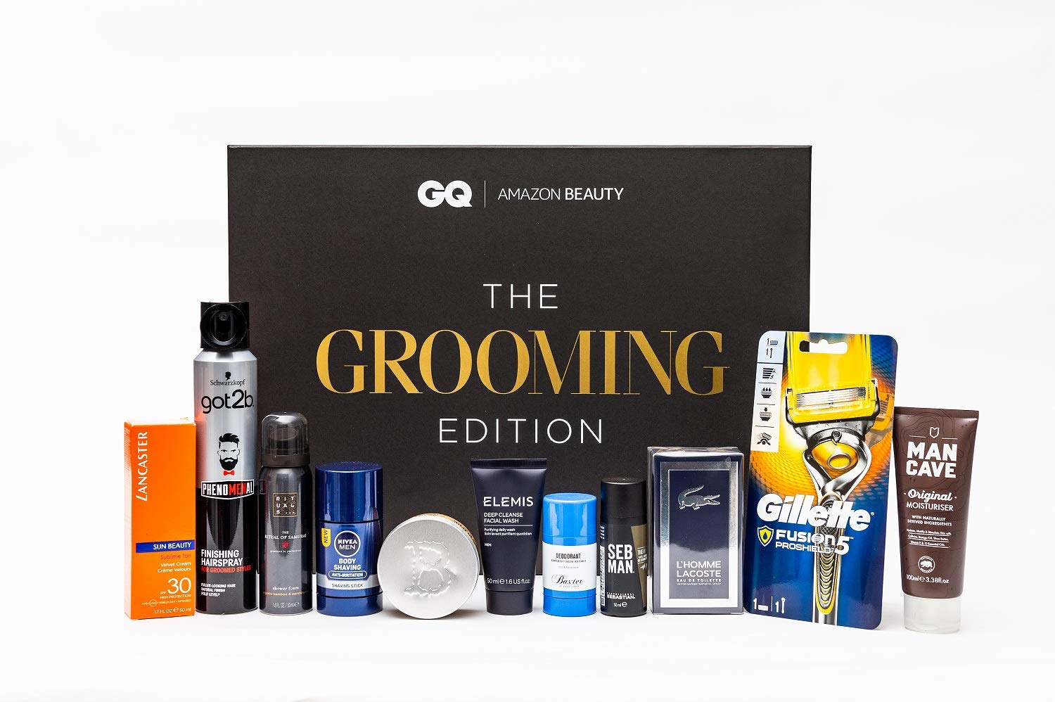 Amazon Beauty x GQ Presents: The Grooming Edition (including 20% off Philips S9000 Prestige)