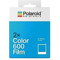 Polaroid Originals 4841 Doppio pacco Pellicola Istantanea a Colori per Fotocamere Polaroid 600 e i-Type, Cornice bianca