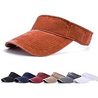 BLURBE Visiera Parasole - Cappello da Tennis da Golf, Golf Visor Sportive da Donna Uomo Lungo Cappello Brim Regolabile…