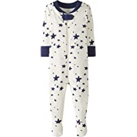 Moon and Back by Hanna Andersson Pigiama con Piede. Infant-And-Toddler-Sleepers Unisex - Bimbi 0-24
