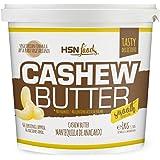 Mantequilla de Anacardo de HSN | Crema con Textura Cremosa y Suave | Cashew Butter Smooth | 100% Natural | Vegano, Sin grasa
