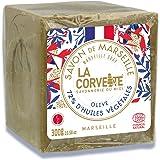 La Corvette Le Cube Edition Limitée 2020 Savon de Marseille Olive, 300 g