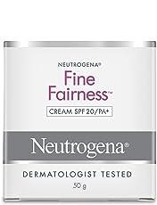 Neutrogena Fine Fairness Cream SPF20/PA+, 50g