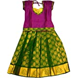 Baby Lakshmi Baby Girl's Faux Silk Readymade Lehenga Choli