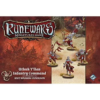 Y'llan The Miniatures Game Command Expansion Uthuk Runewars Infantry WYDH29eEIb