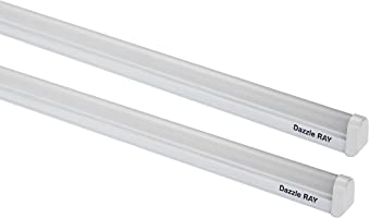 Crompton LDDR20-CDL Dazzle Ray 20-Watt LED Batten (Pack of 2, Cool Day Light)