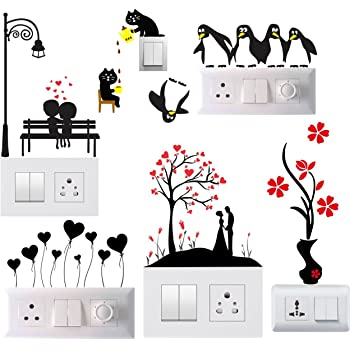 Buy Decals Design Wall Sticker Creative Switchboard Electrical Cord