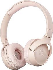 JBL Tune 500BT On-Ear, Wireless Bluetooth Headphone, Pink, One Size
