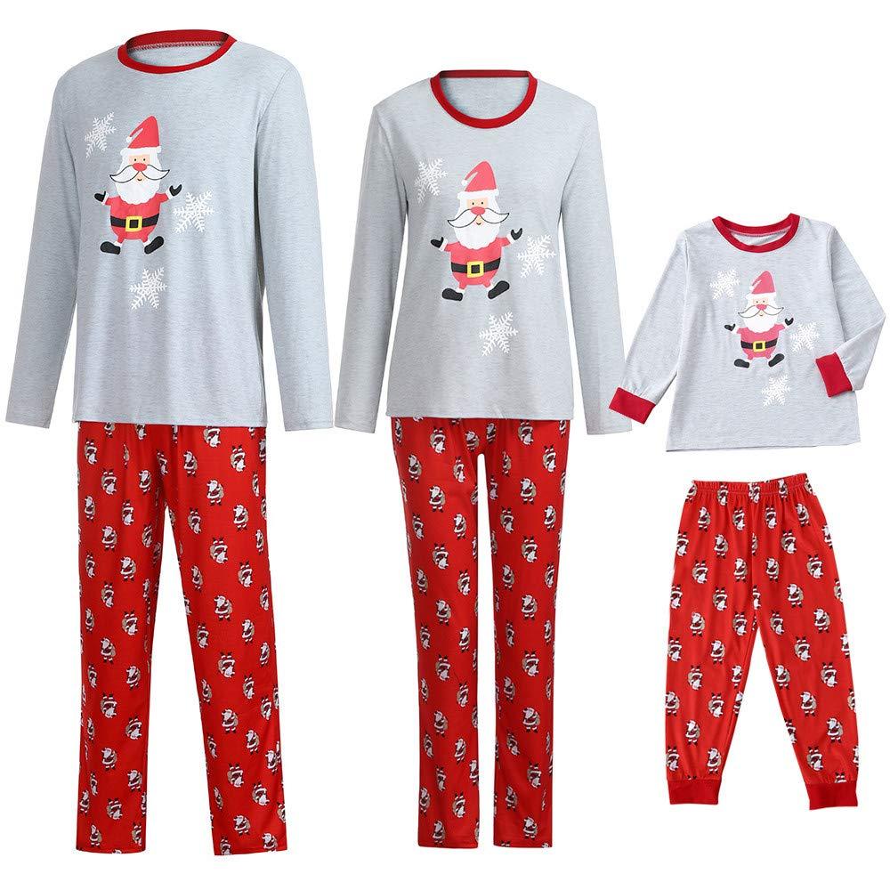 f429df240c18 POLP Niño Navidad Santa Claus Ropa niñas Unisex casa Pijama Bebe ...