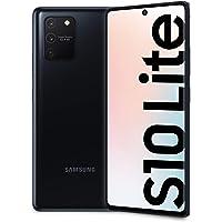 "Samsung Galaxy S10 Lite Smartphone, Display 6.7"" Super AMOLED, 3 Fotocamere Posteriori, 128 GB Espandibili, RAM 8 GB, 4500 mAh, 4G, Hybrid Sim, Android 10, [Versione Italiana], Nero (Prism Black)"