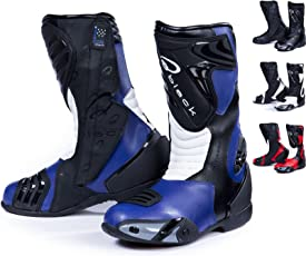 BLACK Zero - Motorrad-Stiefel - wasserdicht - Sport/Racing