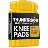 Thunderbolt Knee Pads for Work Inserts for Pants Trousers Workwear with Thick EVA Foam Cushioning