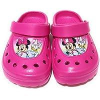 Sabots Minnie Mouse Disney pour fille – Sabots Minnie Mouse et Daisy pour plage ou piscine