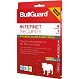 BullGuard Internet Security 2021 for all Windows PC's, Mac and Android Devices - with Free Automatic Latest Updates - 6…