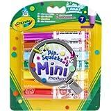 Crayola - 7 Mini Markers, 3.8337